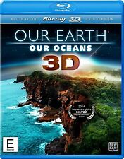 OUR EARTH OUR OCEANS BluRay 3D Documentario Inglese NEW .cp