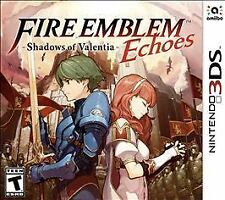 Fire Emblem Echoes: Shadows of Valentia (Nintendo 3DS, 2017) sealed 3ds new mint