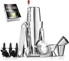 New listing Mixology Bartender Cocktail Shaker Set - 15 & 30 oz Stainless Steel Cocktail Bar