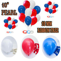 10-100 White and Mix colour Plain Balloons Birthday Wedding Party Xmas New Year