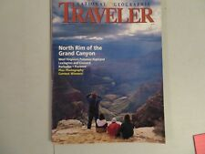 Lot of 4 National Geographic's Traveler Magazines VG (See details)
