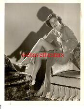 Vintage Martha Sleeper SEXY LEGS PINUP '32 DBW Publicity Portrait by C.S. BULL