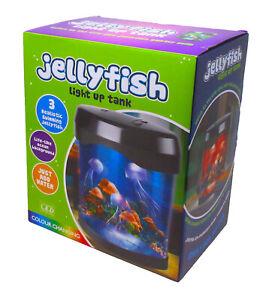 New Improved 2020 Colour Changing LED Jellyfish Mood Light Lamp Aquarium Tank
