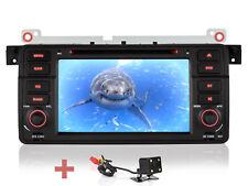 """Per BMW e46 3er 318 320 325 Telecamera Retromarcia + 7"""" Navigazione DVD GPS Autoradio SD"""
