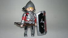 Playmobil Médiéval Chevalier avec Epée et Bouclier, Soldats, Guerrier Avec Arc