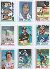 1982 Topps Baseball Complete Set - Cal Ripken, Lee Smith, Dave Stewart Rookies