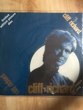 Cliff Richard Lean On You UK shaped picture disc vinyl record EMPD105 EMI 1989