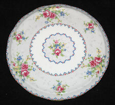 PETIT POINT TRIVET TILE Royal Albert Tea Coffee Pot Stand Vintage Reg. 778676