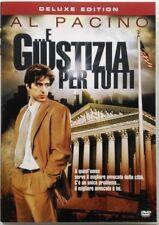 Dvd ... E giustizia per tutti - Deluxe edition con Al Pacino 1979 Usato