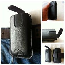 LG Optimus Vu 2 Assem en cuir véritable sac de ceinture Sac Housse portable étui Case