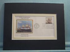 USS Constellation  - XYZ Affair, Barbary Wars & War of 1812 & First Day Cover