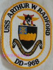 PUS714 - US NAVY USS ARTHUR W RAFORD DD-968 PATCH