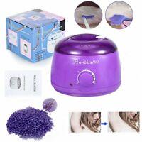 Hot Wax Warmer Heater Pot Machine Kit Salon Spa Hair Removal + Pearl Wax Beans