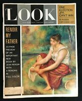 LOOK MAGAZINE - Nov 6 1962 - RENOIR (article by his son) /  Russia Catching Up