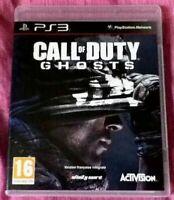 Jeu vidéo pour Playstation 3 - CALL of DUTY GHOST - PS3 version Francaise