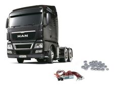 Tamiya Truck MAN TGX 26.540 Gun Metal Edition + LED, Kugellager - 56346LEDKU