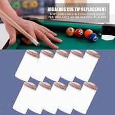 Pool Cue Ferrule Billiard Accessory Fibre Slip-On Tips for Pool Cues 11 mm