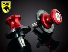8MM Red Swingarm Sliders Spools For Suzuki Motorcycles GSRX600/750/1000/1100