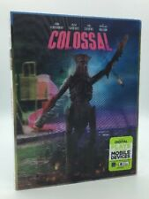 Colossal (Blu-ray+DVD+Digital HD, 2017; 2-Disc Set) NEW w/ Lenticular Slipcover