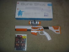 The House Of The Dead 2 & 3 Returns + Sure Shot Rifle & Top Shot Elite Guns Wii