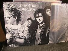 Phantom Opera LP la '86 Gótico Punk Wave Mike Watt Sst Raro Oop Vinilo