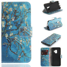 Magnetic Flip Wallet PU Stand Case Cover For iPhone Samsung LG Huawei SONY Moto