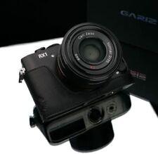 GARIZ  XS-CHRX1BK leather case BLACK FOR SONY RX1 & RX1R