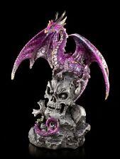 Dragones Figura auf Calavera - FIELES Defensor de - FANTASY GOTHIC