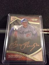 2017 Tier One Trayce Thompson Copper Ink Auto Autograph #17/25 Dodgers c
