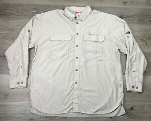 The North Face Vented Button Up Hiking Shirt - XL/TG