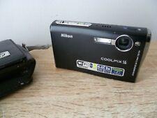 Nikon COOLPIX S6 WiFi 6.0MP Digital Camera - Matte black
