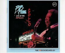 CD B.B. KING	live at the apollo VERVE HOLLAND 2012  EX+  (B0197)