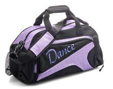 Medium Large Sparkly Purple Dance Ballet Tap Kit Holdall Sports Bag KB73 By Katz