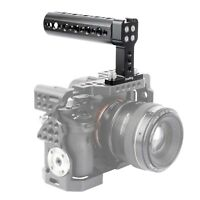 "SmallRig Top Cheese Handle w/ Cold Shoe & 1/4"" Screw for Camera Cage - 1638B SM"