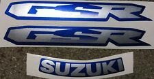 Adesivi Suzuki GSR Blu 600 2008 - adesivi/adhesives/stickers/decal