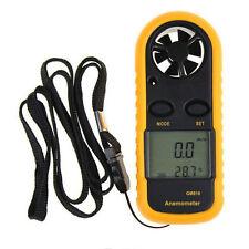 Digital LCD Digital- handgehalten Windgeschwindigkeit Luftstrom Messgerät Meter