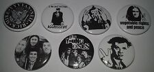 7 The Young Ones Button badges Rik Mayall Oil Boring Flood Cult TV Bottom Nasty