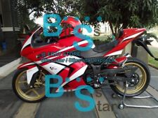 Red Fairings + Tank Cover Fit Kawasaki Ninja 250R EX250 2010 2008-2012 33 U1