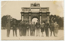 WW2 Photo Postcard US Soldiers Arc De Triomphe Siegestor Munich Bavaria