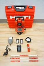 "Hilti POS15 Total Station 5"" Sec Reflectorless Mechanical Spectra Trimble"