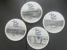 complete set of 4 HAHN SUPER DRY/ THE ARMS HOTEL Special Issue  BEER COASTERS
