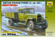 1/35 Wwii Soviet Truck 1.5tn model 1943 Zvezda 3574 Models kits