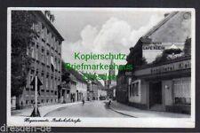 117292 AK Hoyerswerda 1940 Bahnhofstraße Cafe Klein Konditorei Feldpost