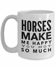 Horse Mug - Horse Gifts For Girls - 15oz Horse Coffee Mug- Girl Horse Gifts - Ho