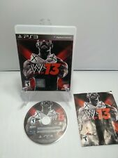 PS3 WWE 12 W12 - Game Wrestling Complete w/Manual  - Ships Fast