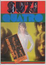 Suzi Quatro - Rock Explosion '75 JAPAN PROGRAM with TICKET STUB October 1 1975