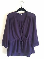 LAmade Purple Blouse Size M 100% silk