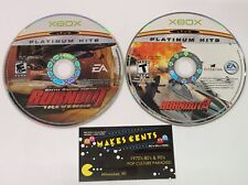 Lot of 2 - Burnout Revenge & Burnout 3 Takedown - Xbox Disc Only Games Ship Fast
