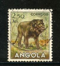 1953 - ANGOLA - 2,50 Ags. LEONE - USATO - LOTTO/29031