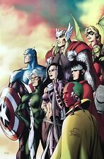 ALAN DAVIS giclee CANVAS I Am An Avenger SIGNED Avengers HFA EXCLUSIVE + COA Comic Art